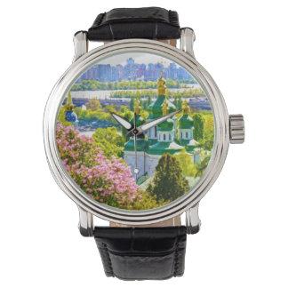 Vydubitsky Monastery. Kiev, Ukraine Wrist Watches