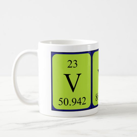 Vyv periodic table name mug