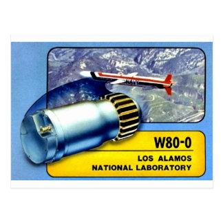 W80 Warhead Gear -- One of the Best Warheads Ever! Postcard