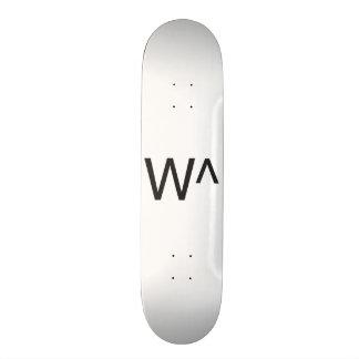 w^.ai skate board decks