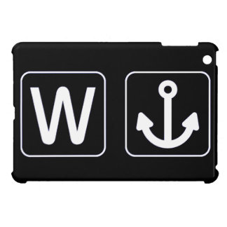 W Anchor Wanchor Funny Gift Cover For The iPad Mini