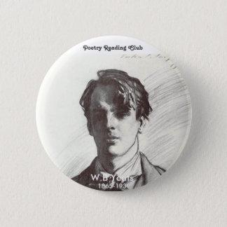 W. B. Yeats 2 Inch Round Button