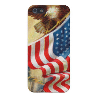 /w EAGLE DEFENDING LIBERTY iPhone 5/5S Cases