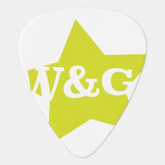W&G GUITAR PICK