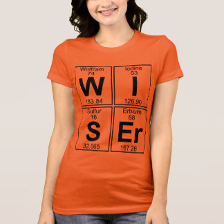 W-I-S-Er (wiser) - Full T-Shirt