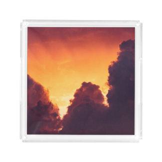 w in weather acrylic tray