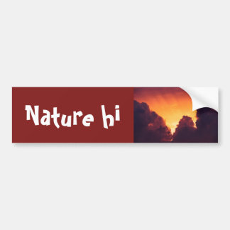 w in weather bumper sticker