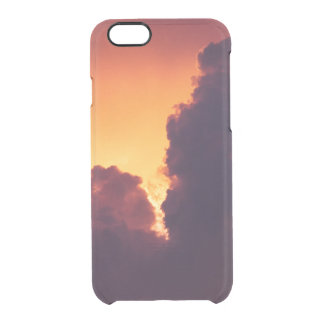 w in weather clear iPhone 6/6S case