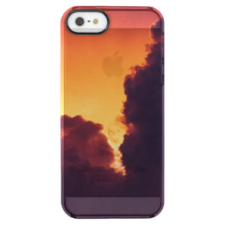w in weather clear iPhone SE/5/5s case