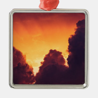 w in weather metal ornament