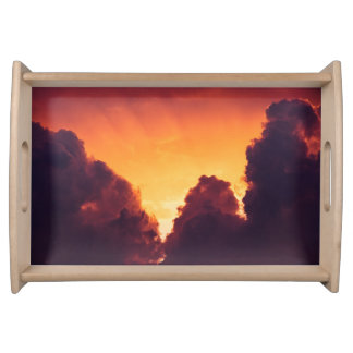 w in weather serving tray