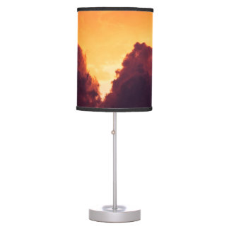 w in weather table lamp