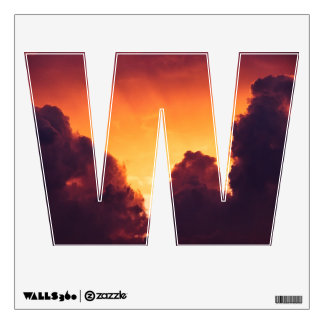 w in weather wall sticker