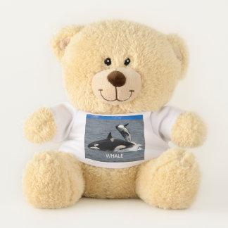 W is for Whale Teddy Bear