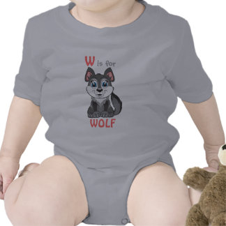 W is for WOLF Childs Shirt