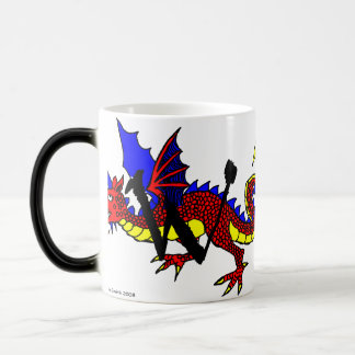 W is for Wyvern Magic Mug