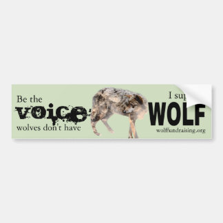 W.O.L.F. Bumper Sticker - Voice