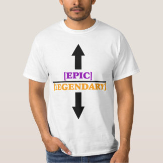 W.o.W. Epic and Legendary T-shirt