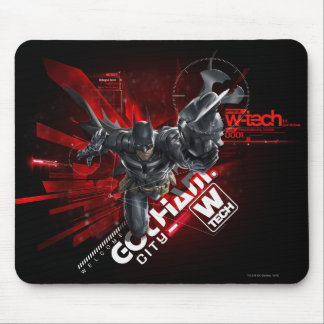 W-Tech Red Batman Graphic Mouse Pad