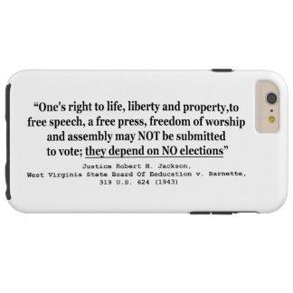 W Virginia Board Of Ed. v Barnett 319 US 624 1943 Tough iPhone 6 Plus Case