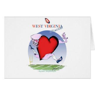 w virginia head heart, tony fernandes card