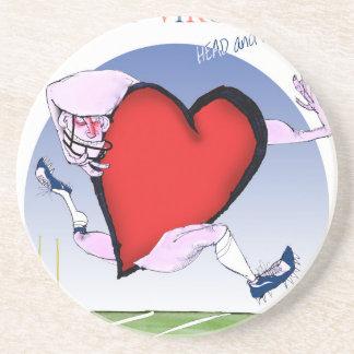 w virginia head heart, tony fernandes coaster