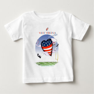 w virginia loud and proud,tony fernandes baby T-Shirt