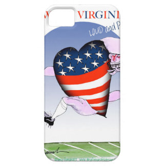 w virginia loud and proud,tony fernandes iPhone 5 cases