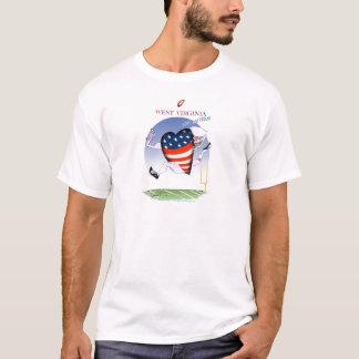 w virginia loud and proud,tony fernandes T-Shirt