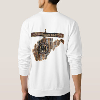 W VIRGINIA RIG UP CAMO SWEATSHIRT
