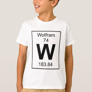 W - Wolfram T-Shirt