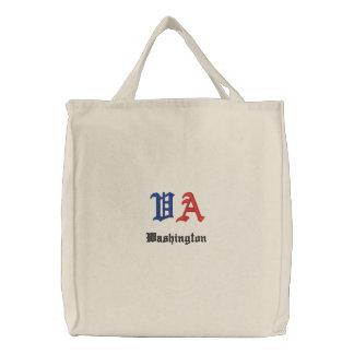 WA Custom Embroidered Bag