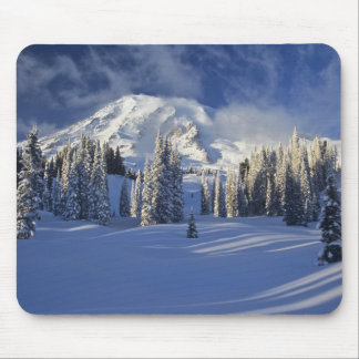 WA, Mt. Rainier NP, Mt. Rainier and Paradise Mouse Pad
