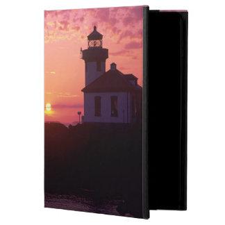 WA, San Juan Island, Lime Kiln Lighthouse, 1919, iPad Air Covers