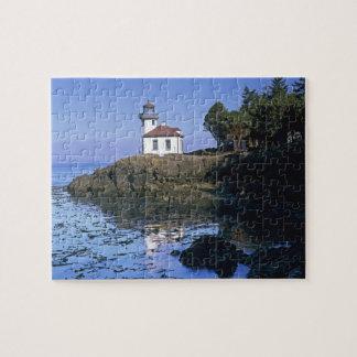 WA, San Juan Island, Lime Kiln lighthouse Puzzle
