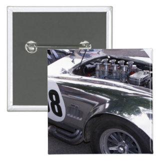 WA, Seattle, classic American automobile. 2 2 Inch Square Button