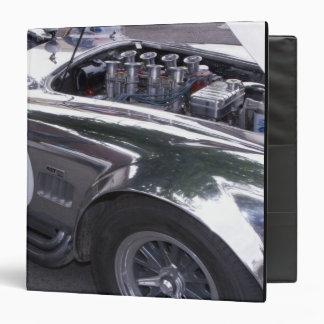 WA, Seattle, classic American automobile. 2 3 Ring Binder