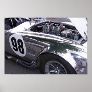 WA, Seattle, classic American automobile. 2 Poster