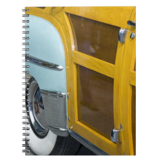 WA, Seattle, classic American automobile. 2 Spiral Note Books