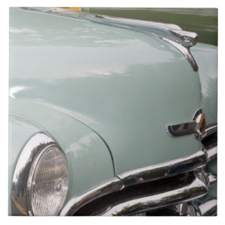 WA, Seattle, classic American automobile. 3 Tile