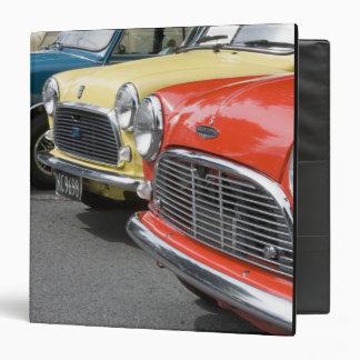WA, Seattle, classic British automobile. Vinyl Binders