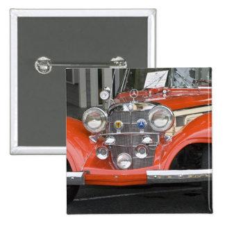 WA, Seattle, classic German automobile. 2 2 Inch Square Button