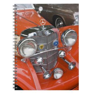 WA, Seattle, classic German automobile. Spiral Notebooks