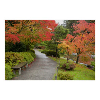 WA, Seattle, Washington Park Arboretum, 2 Poster