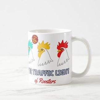 < wa taking signal > The traffic light of roosters Coffee Mug