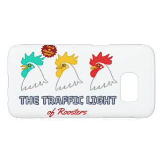 < wa taking signal > The traffic light of roosters Samsung Galaxy S7 Case