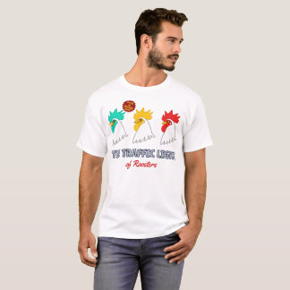 < wa taking signal > The traffic light of roosters T-Shirt
