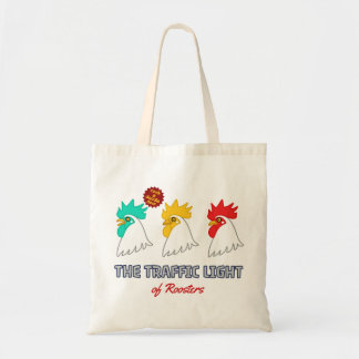 < wa taking signal > The traffic light of roosters Tote Bag