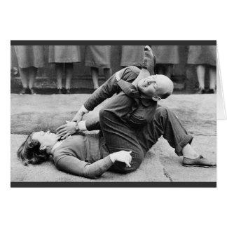 WAAF Demonstrate Self-Defense 2 Card