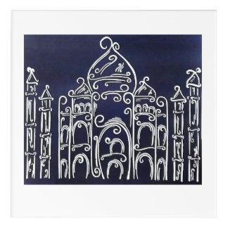 Waah Taj! Acrylic Print